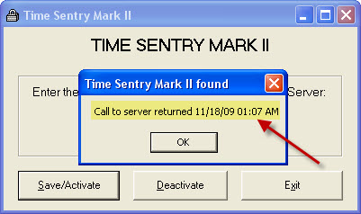 Time Sentry Config